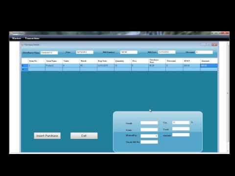 Pharma Distributor Software