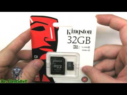 Mr. LiveRoBoT =UnBOXing= Карта Памяти MicroSDHC Kingston 32 GB CLASS 10 UHS-I [ГАРАНТИЯ 120 МЕСЯЦЕВ]