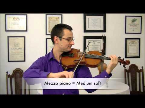 The Practicing Companion - Playing Musical Dynamics on Violin