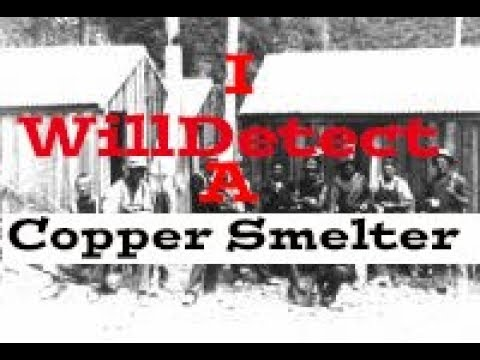 Metal Detecting  Gold And Copper Smelter