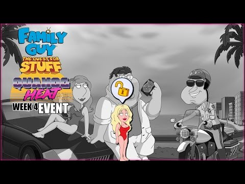 Family Guy: The Quest For Stuff | Quahog Heat Event | PAMELA ANDERSON UNLOCKED