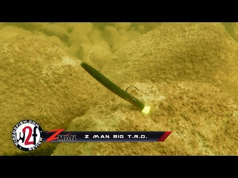 Z Man Big T.R.D Underwater Video