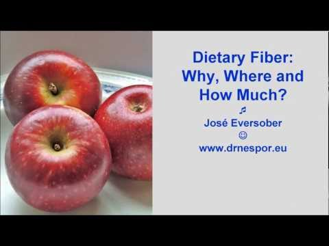 Dietary Fiber:  Why, Where and How Much?