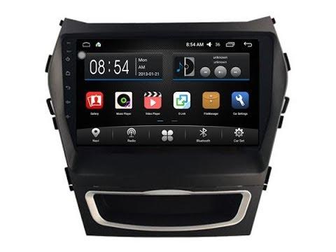 Review Car DVD GPS Radio Player For Hyundai Santa Fe IX45 2013-2017 10,2