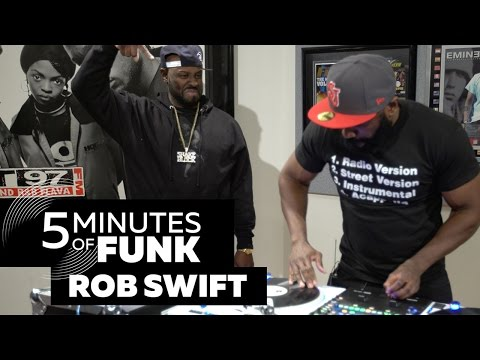 Rob Swift | #5MinutesOfFunk005 | #TurntableTuesday97