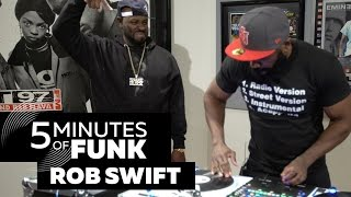 Rob Swift | #5MinutesOfFunk | #TurntableTuesday97
