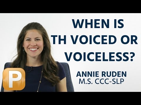 American English TH Rules: Voiced or Voiceless?