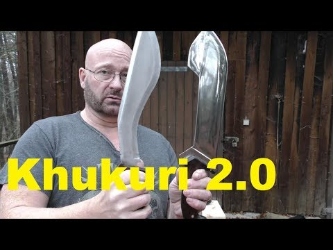"""Khukuri Reinvented: The """"Knout"""". Huge. Massive. Adorable. WIN IT!"""