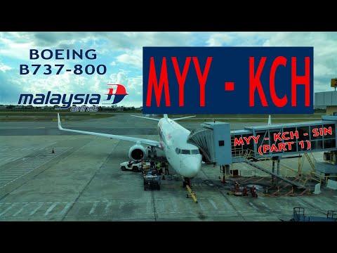 Malaysia Airlines MH643 (Part 1): Miri MYY ✈ Kuching Int