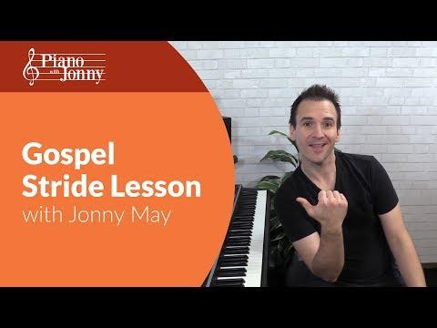 Gospel Stride! - Fun Piano Lesson with Jonny May