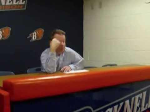 Coach Paulsen post game Fairfield