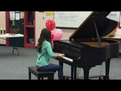 Julia Call performs The Elf and the Fairy by Benton