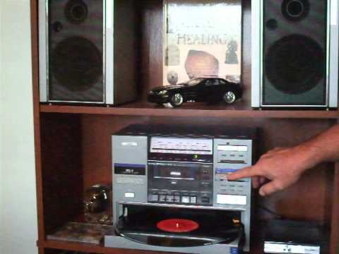 JVC DC7 BOOMBOX with Linear Tracking Tone Arm and Turntable 1982/83