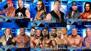 WRESTLEMANIA 19 MATCH CARD - TEW 2016 WWE 2003 Series