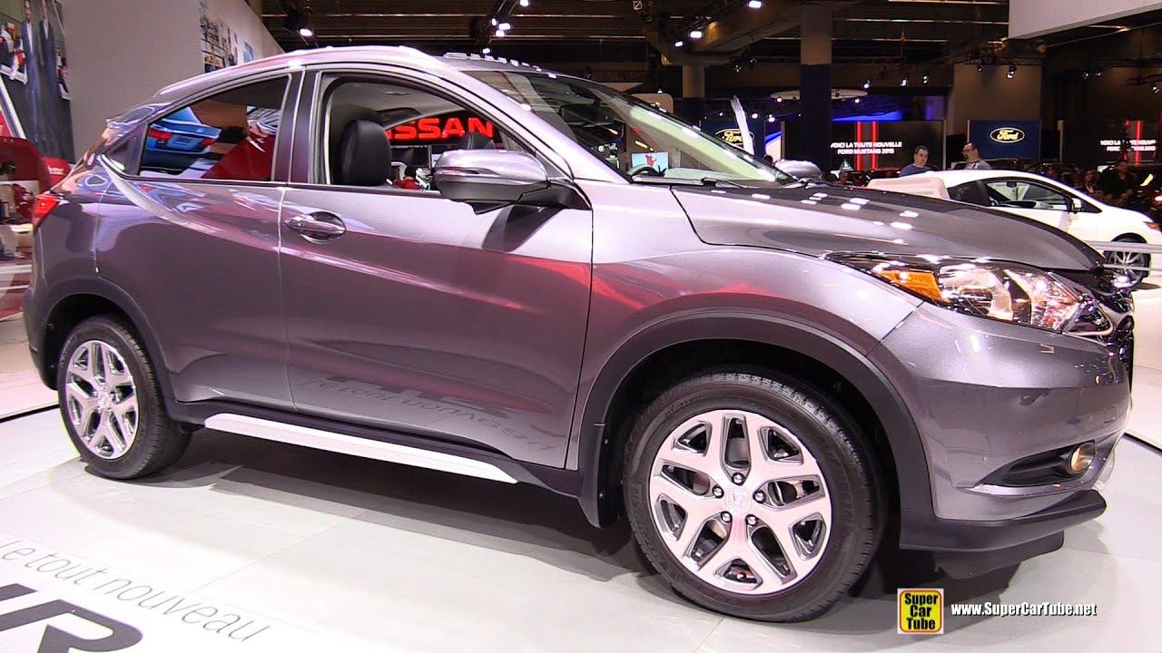 2016 Honda Hrv Awd Exterior And Interior Turnaround 2017 Montreal Auto Show