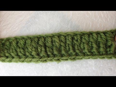 Hướng dẫn móc len căn bản: Mũi kép đôi (Treble crochet ) - Bài 5