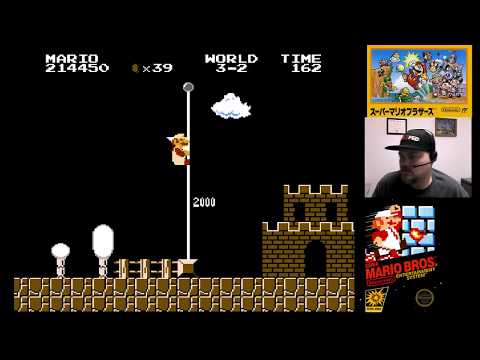 NES Classic - Super Mario Bros. | VGHI Play 'n' Chat Live Stream