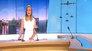 Répétition du défilé aérien du 14 juillet - Version locale
