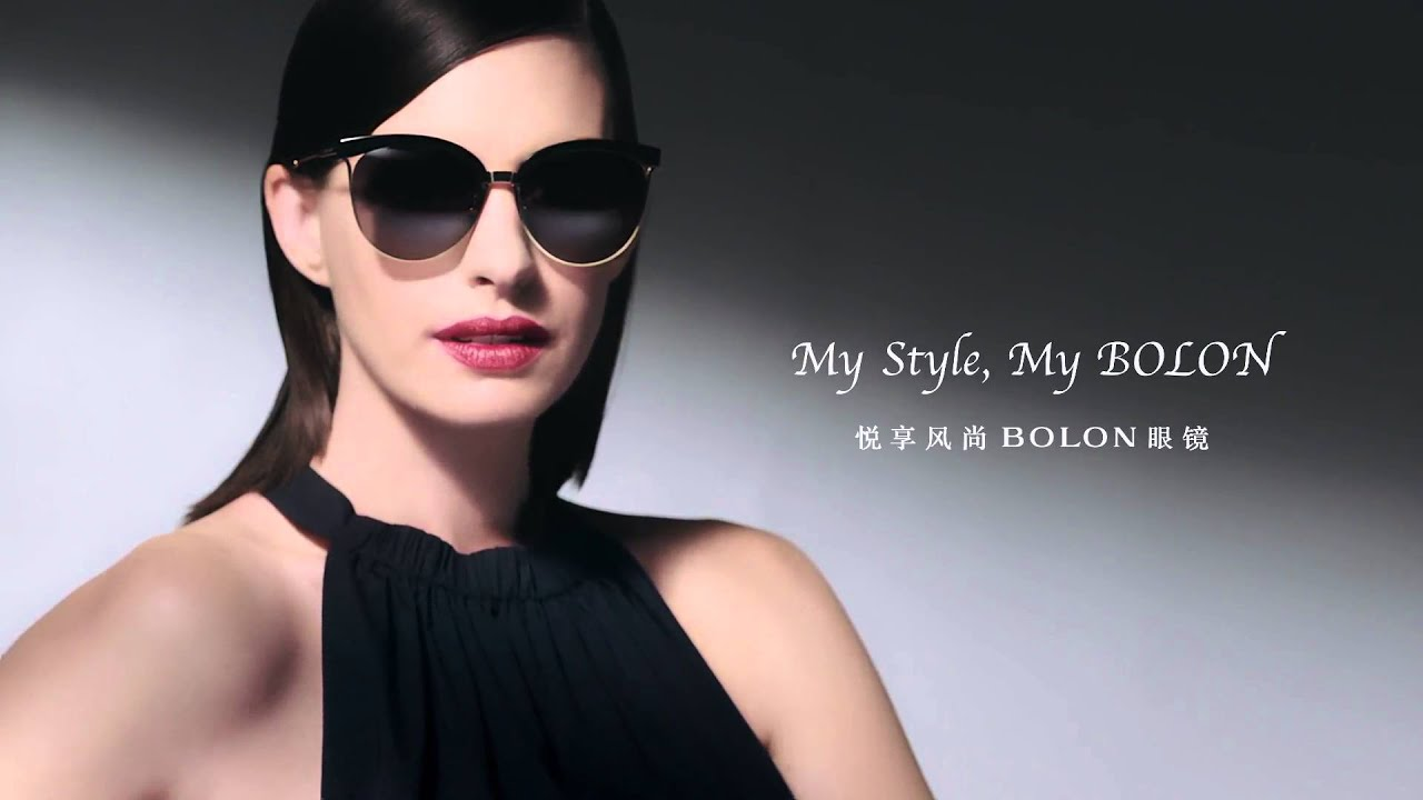 a85e1871ee Anne Hathaway for BOLON - YouTube