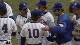 1982 WS Gm4: McClure fans Tenace to end Game 4
