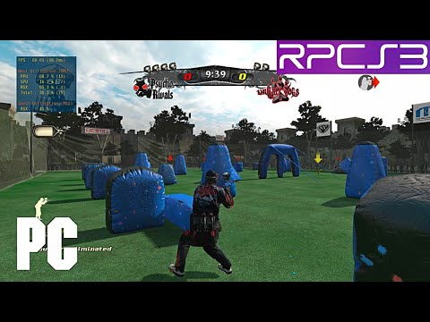 PS3 NPPL Paintball