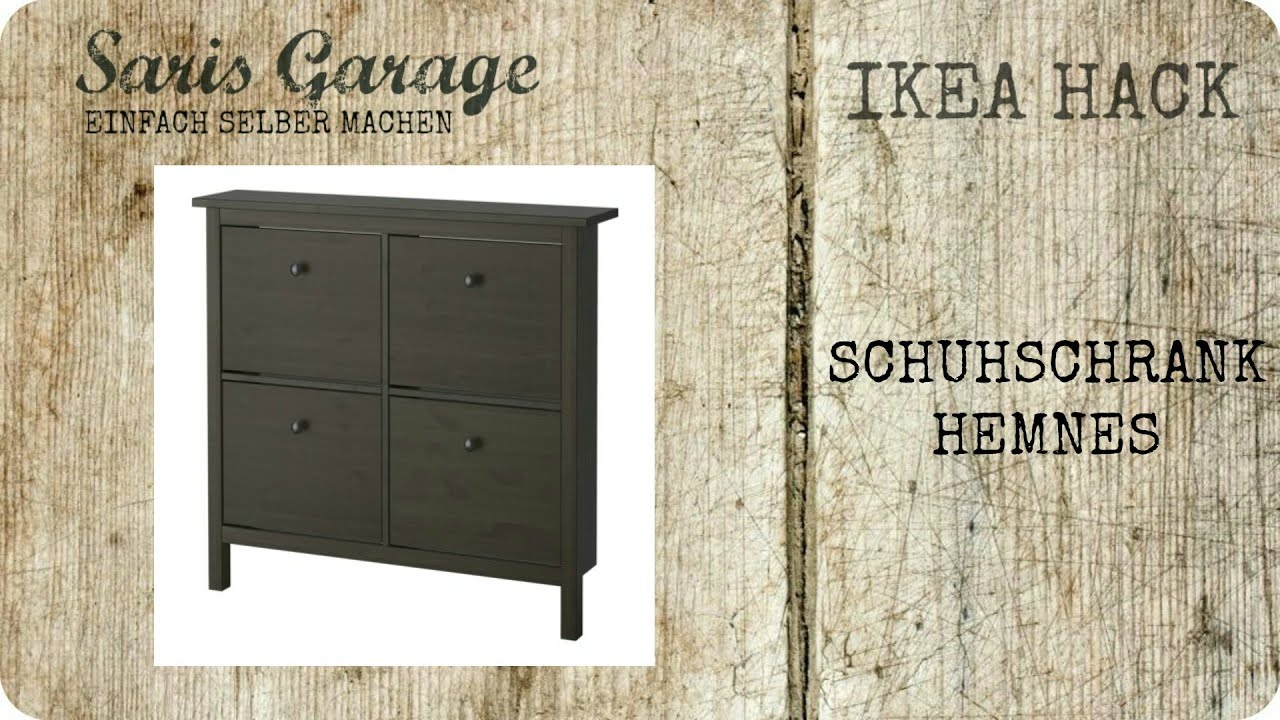 ikea hack schuhschrank kommode regal upcycling diy hemnes ikea how to ikea. Black Bedroom Furniture Sets. Home Design Ideas