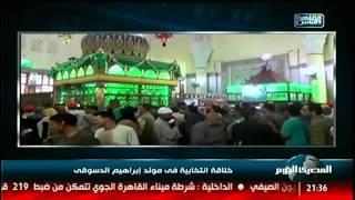 بالفيديو | خناقة انتخابية فى مولد إبراهيم الدسوقى