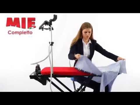Гладильная система Mie Completto видео | онлайн-гипермаркет 21 Vek