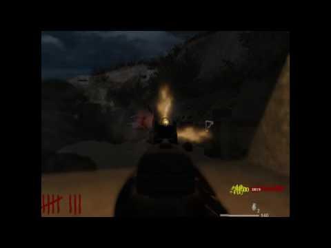 Call of Duty 5 - Nazi Zombie Dead Sand