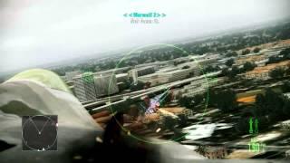 Ace Combat Assault Horizon Campaign Walkthrough | Mission 1 | Nightmare | Elite
