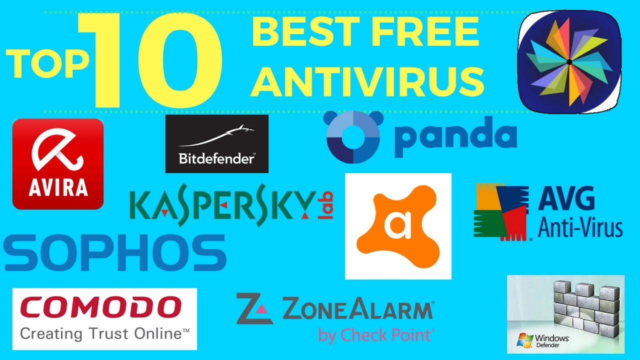 Top 10 Best Free Antivirus Software || Windows, Mac ...