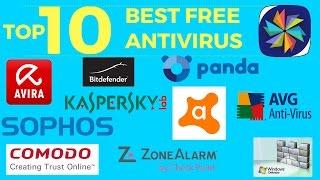 Top 10 Best Free Antivirus Software || Windows, Mac, Android (2017)