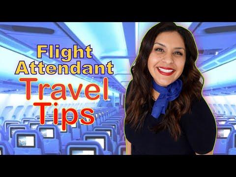 FLIGHT ATTENDANT TRAVEL TIPS - Survive a 10+ Hour Flight ✈️