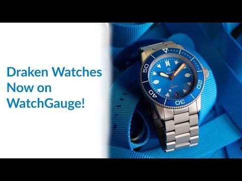Draken Watches Are Now On WatchGauge!