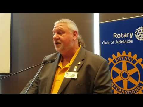 District Governor, Peter Schaefer  - The New DG Speaks