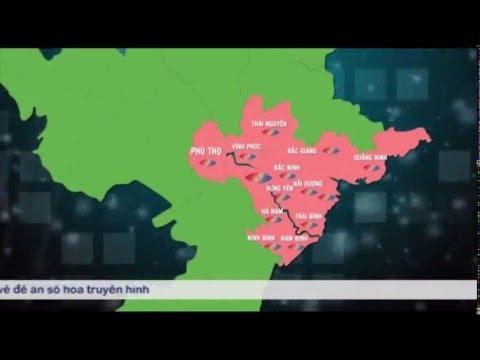Thông tin về vùng phủ sóng truyền hình số mặt đất DVB-T2 trên cả nước