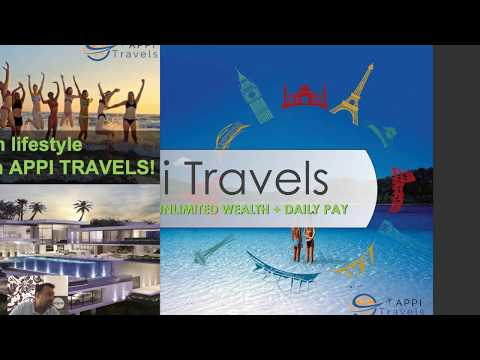 Travel and EARN Bitcoins with APPI Travels Presentation - Danny Gauthier - make money Online