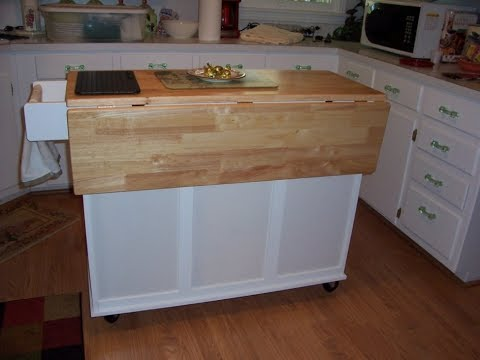 Kitchen Islands With Drop Leaf YouTube