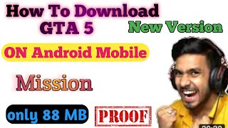 How To Download GṪA 5 on android mobile | gta 5 download | #Short | #youtubshort | gta v | gta 5