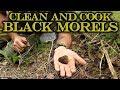 COLORADO Black Morels Clean & Cook
