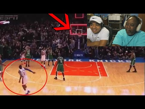 Dad Reacts to Crazy NBA Plays That Didn't Count!