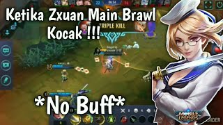 Ketika Zxuan Main Fanny Di Brawl - Mobile Legends Gameplay #1