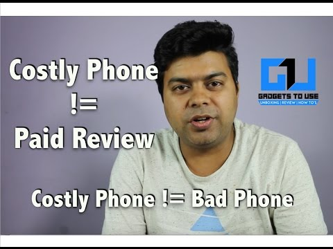 Costly Phone Is Not Always Bad, Its Not a Paid Review | Gadgets To Use