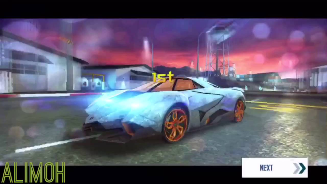 Asphalt 8 Lamborghini Egoista R Amp D Final Test Rank 1709 Youtube
