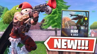 *NEW* Fortnite SLIDE SOLO LTM GAMEPLAY! (Fortnite Battle Royale New LTM)