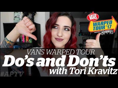 APTV: Warped Tour DO'S AND DON'TS with TORI KRAVITZ
