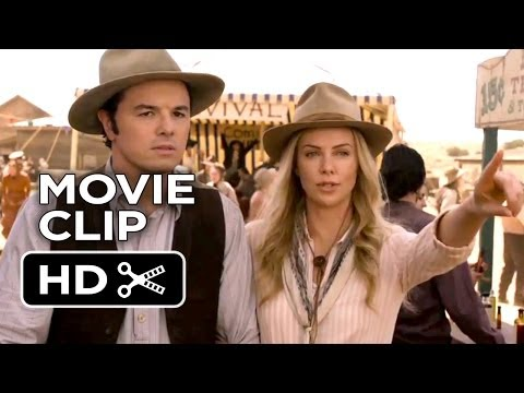 A Million Ways To Die In The West Movie CLIP - Foy Mocks Albert (2014) - Charlize Theron Comedy HD