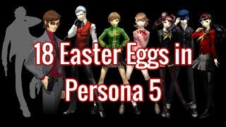 18 Easter Eggs in Persona 5  [#1-10]