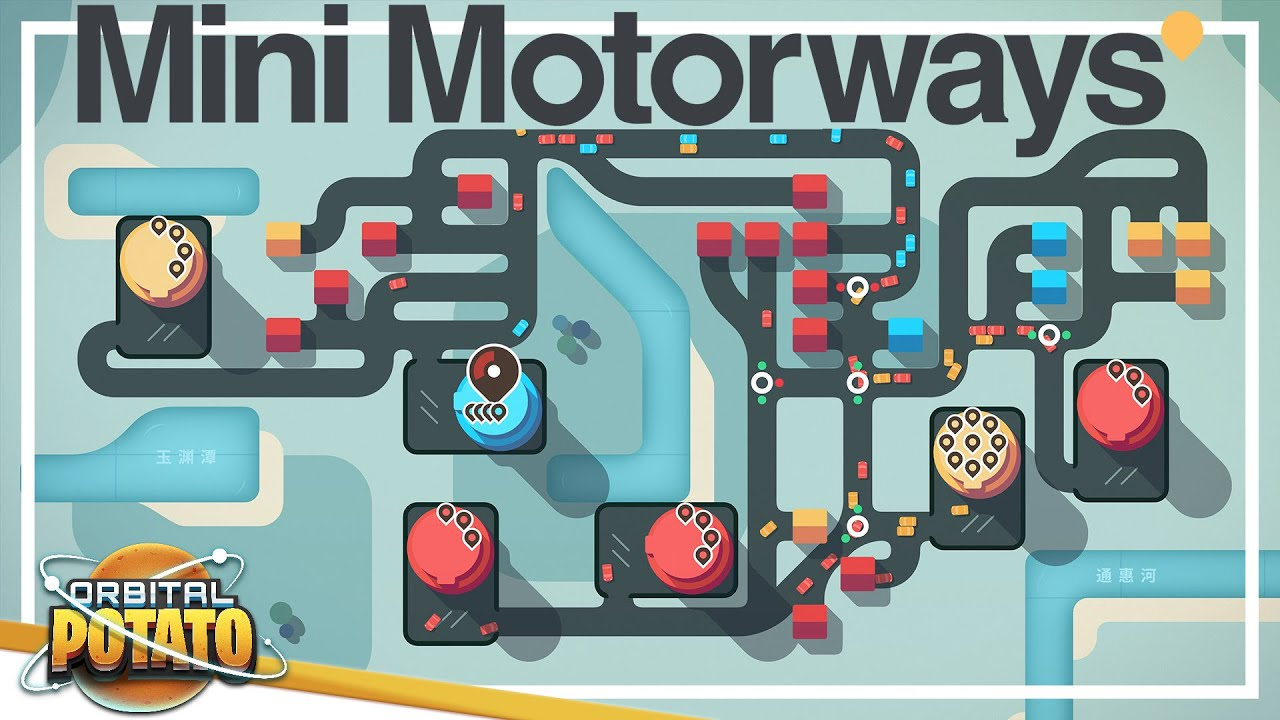 The Munich PROBLEM! - Mini Motorways - Strategy Simulation Casual Game - Episode #13