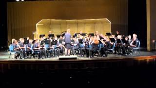 BYMS Wind Ensemble Superior Performance at Festival 3-21-2013 - The Crown of Castile